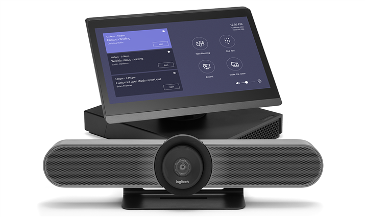 ThinkSmart Hub 500 Logitech Meetup system for huddle rooms